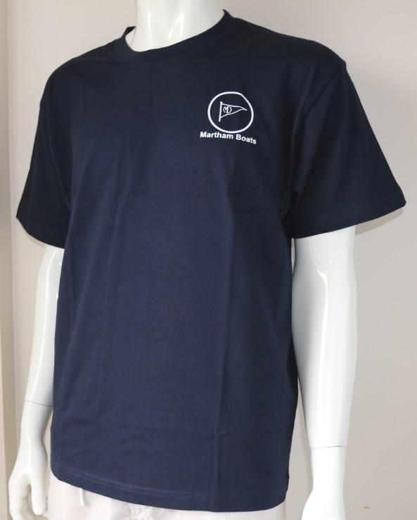 Martham Boats Navy Tee shirts