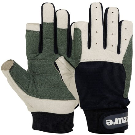 Sailing Gloves Navy Blue Long Fingers
