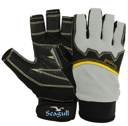 Sailing Gloves Seagull Extreme Grip Cut Finger