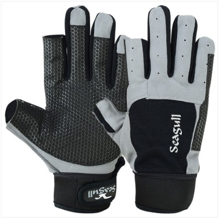 Sticky Palm Sailing Gloves,Strong Amara, long fingers Max. Protection